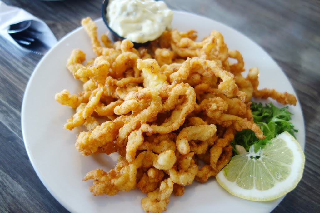 Eat Like you're in new England.  Fried Clams. Image via Estherina's World