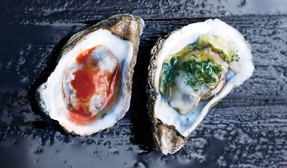 New England Cuisine. Grilled Oysters. Image via Bon Appetit
