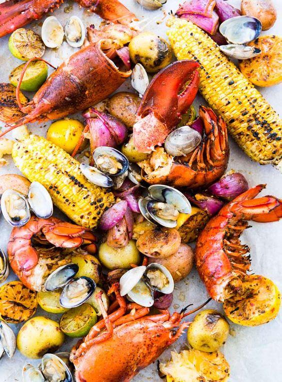 A New England Food Guide. Image via Leite's Culinaria