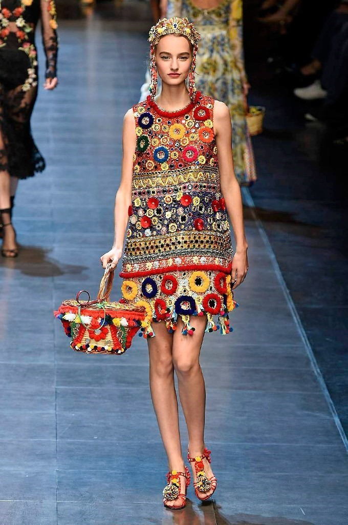 Tassels en Vogue: The Entertaining House Image via Dolce & Gabbana