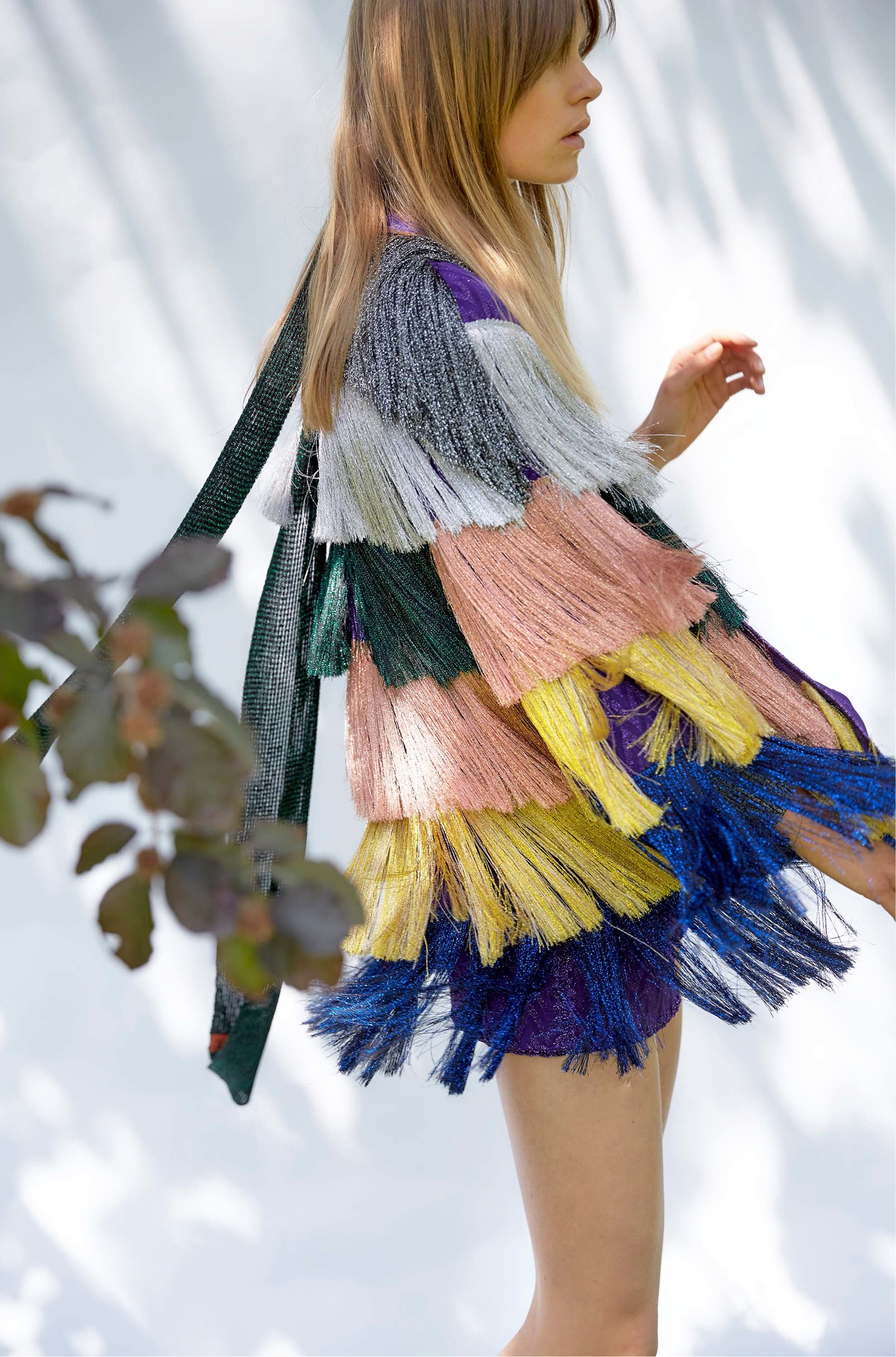 Tassels en Vogue: The Entertaining House Image via Vogue/Missioni