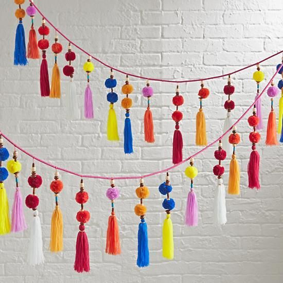 Tassels en Vogue: The Entertaining House Image via Land of Nod (Sold out)