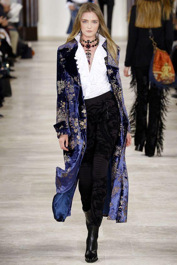 Velvet Crush :: The Season's Hottest Look. Image via Vogue/Ralph Lauren