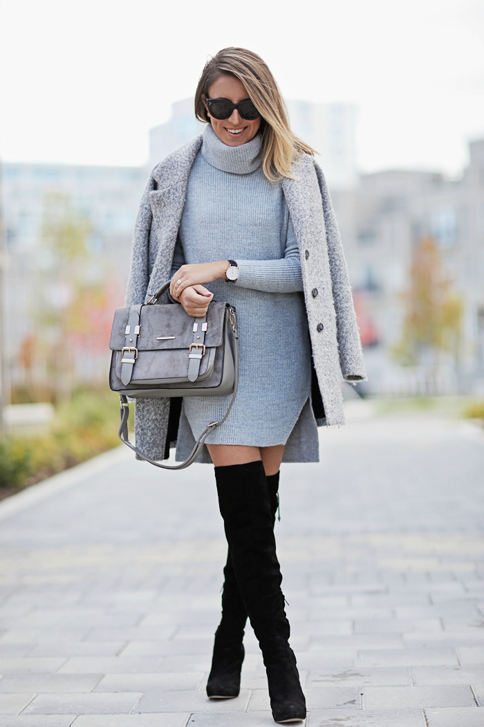 One Size Fits All :: Sweater Dressing