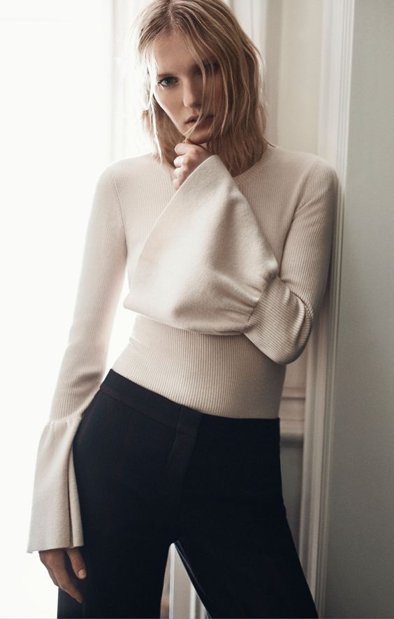 For Whom The Bell Sleeve Tolls - Image via BCBG