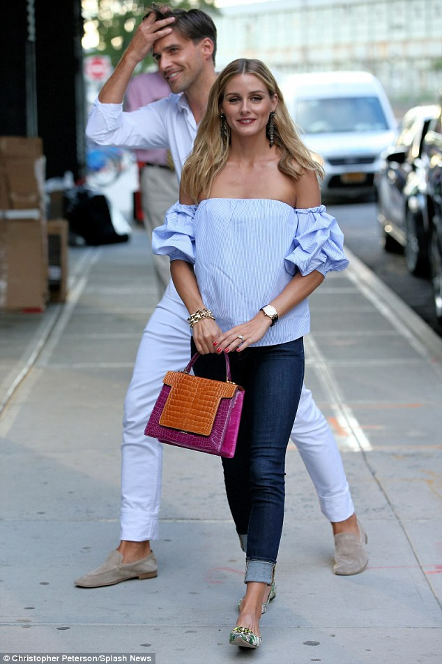 Spring Fashion Favorites :: The Right to Bare Arms. Image via The Daily Mail