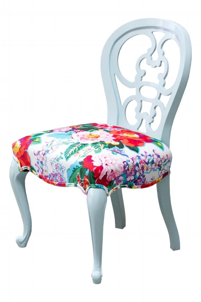 Cafe side chair - Decorating like Dorothy Parker