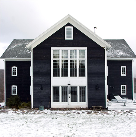 Little Black House - Image via  The New York Times
