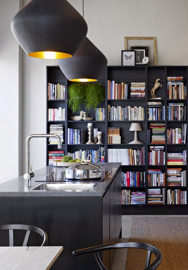 Of Books and Kitchens  :: The Kitchen Library