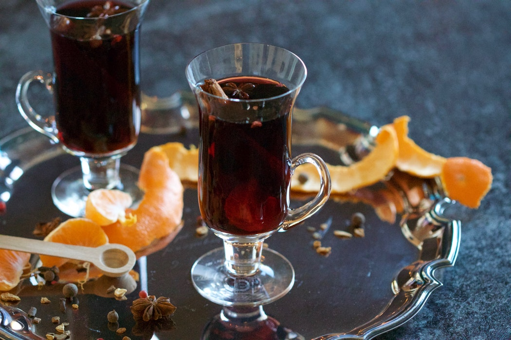 Warm Mulled Wine for the Holidays. Image via Unsplash