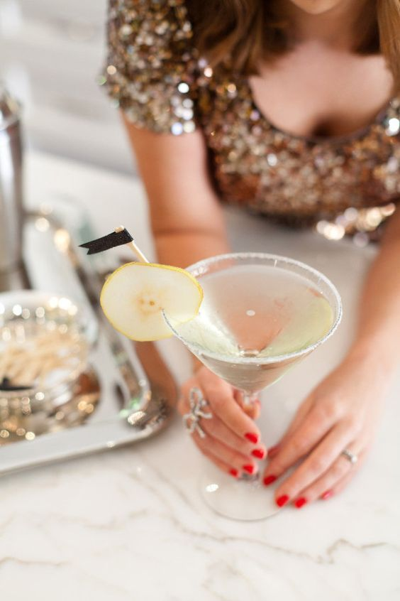 French Pear Martini. Image via Style Me Pretty