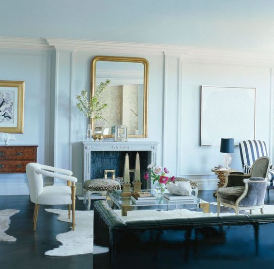 Mindful Living - Living Room, Image via Elle Decor