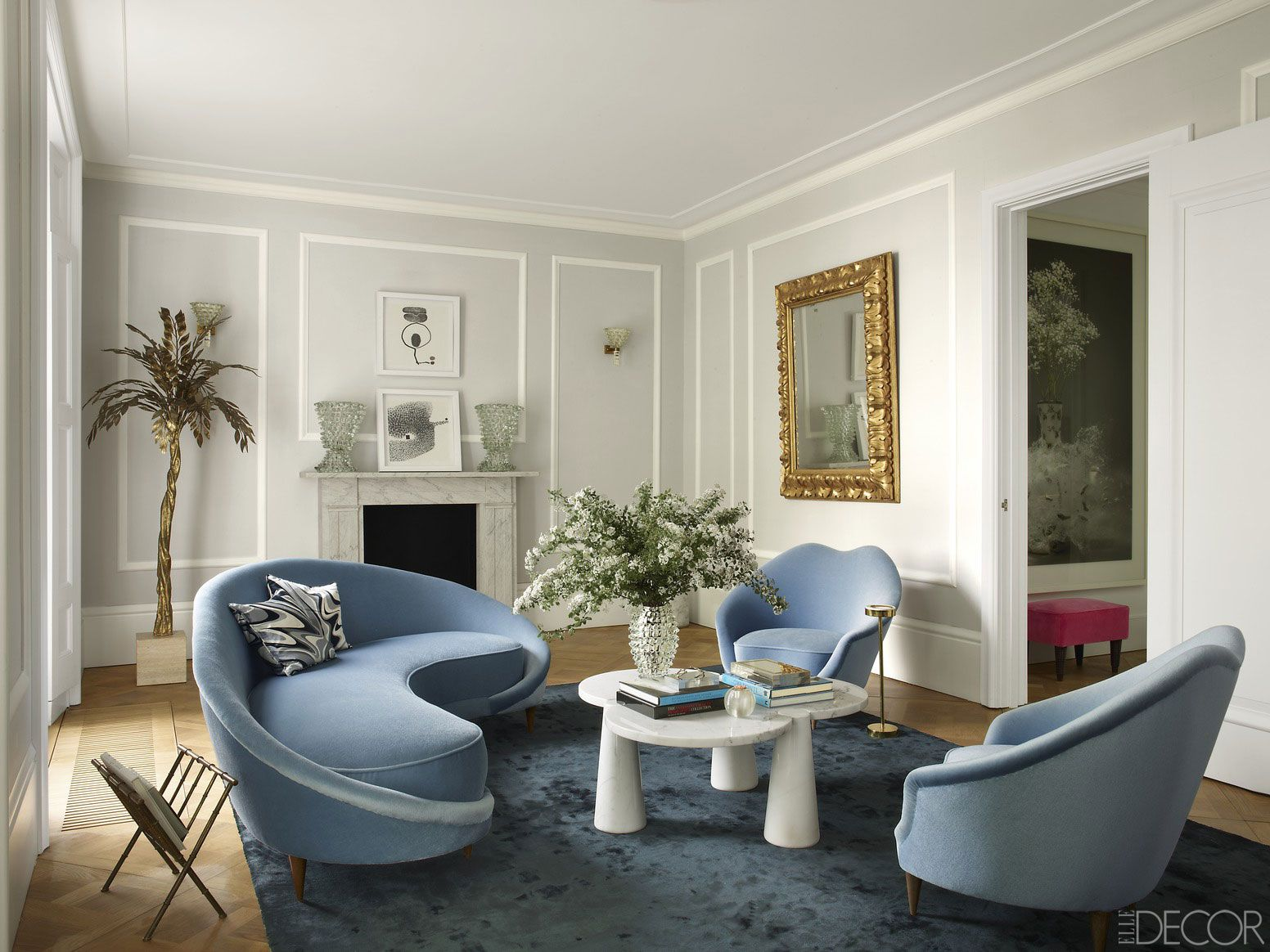 Mindful Interiors - Image via Simon Upton for Elle Decor