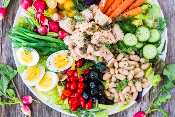 Salade Niçoise. Image via The View from Great Island