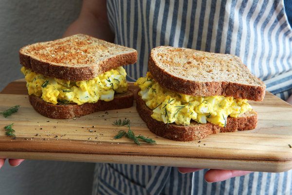 how to use up those easter eggs… Egg Salad Image Courtesy The New York Times