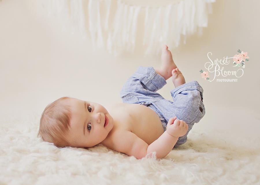 centerville ohio baby photographer jaxon 6 months.jpg