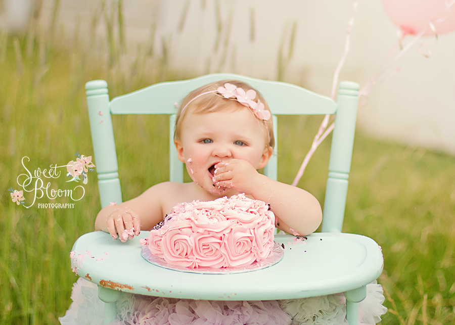 dayton ohio cake smash photographer 1st birthday ellie 3.jpg