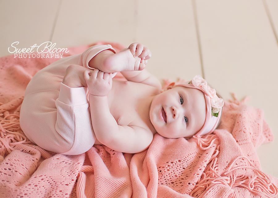 Dayton Ohio Baby Photography Studio | Sweet Bloom Photography | www.sweetbloomphotography.com