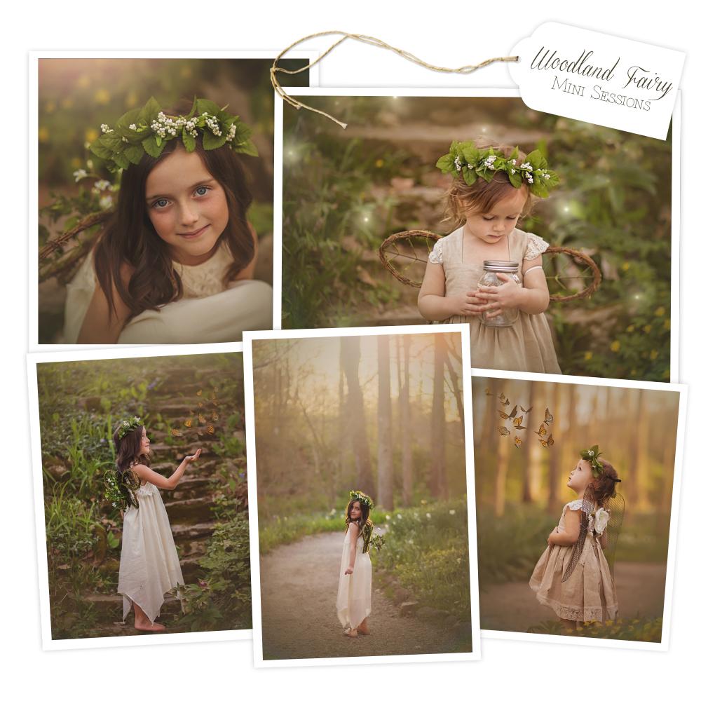 Dayton Ohio Woodland Fairy Mini Sessions Aullwood Gardens Fine Art | Sweet Bloom Photography | www.sweetbloomphotography..com