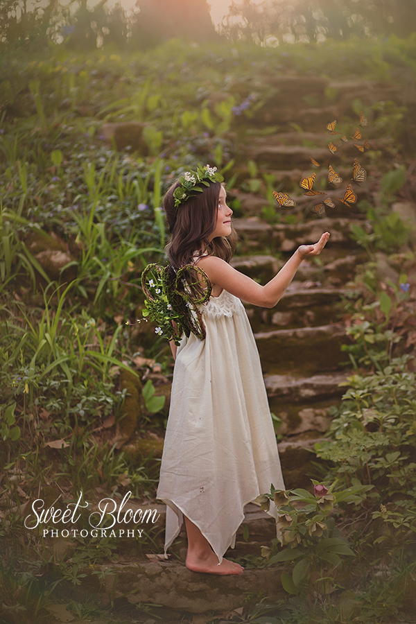 Dayton Ohio Fairy Mini Sessions | Sweet Bloom Photography | www.sweetbloomphotography.com