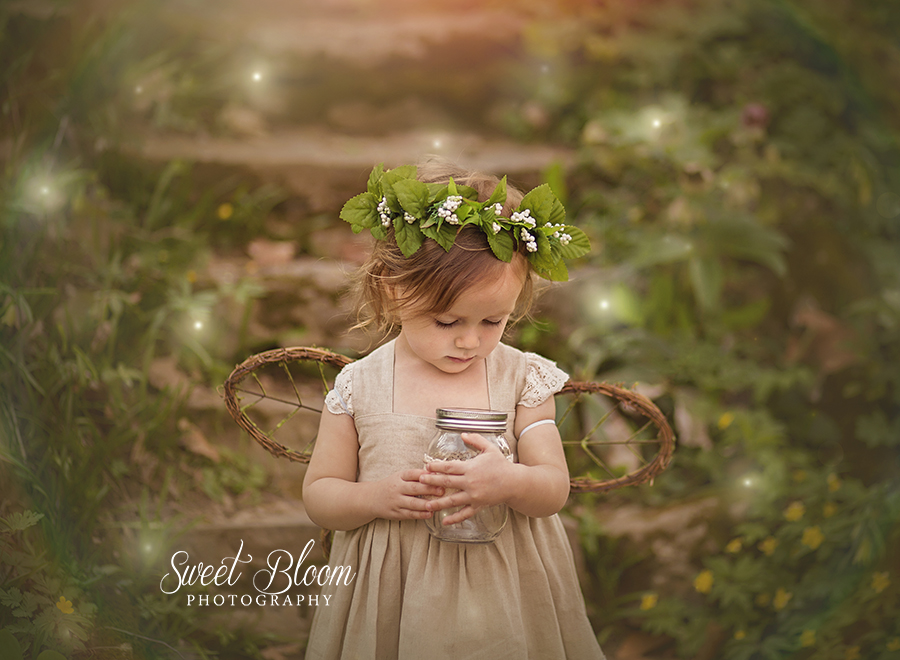Dayton Ohio Woodland Fairy Mini Sessions | Sweet Bloom Photography | www.sweetbloomphotography.com
