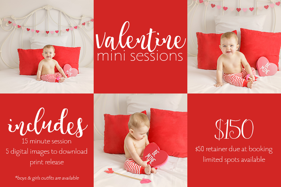 Dayton Ohio Valentines Day Mini Sessions 2016 | Sweet Bloom Photography | www.sweetbloomphotography.com