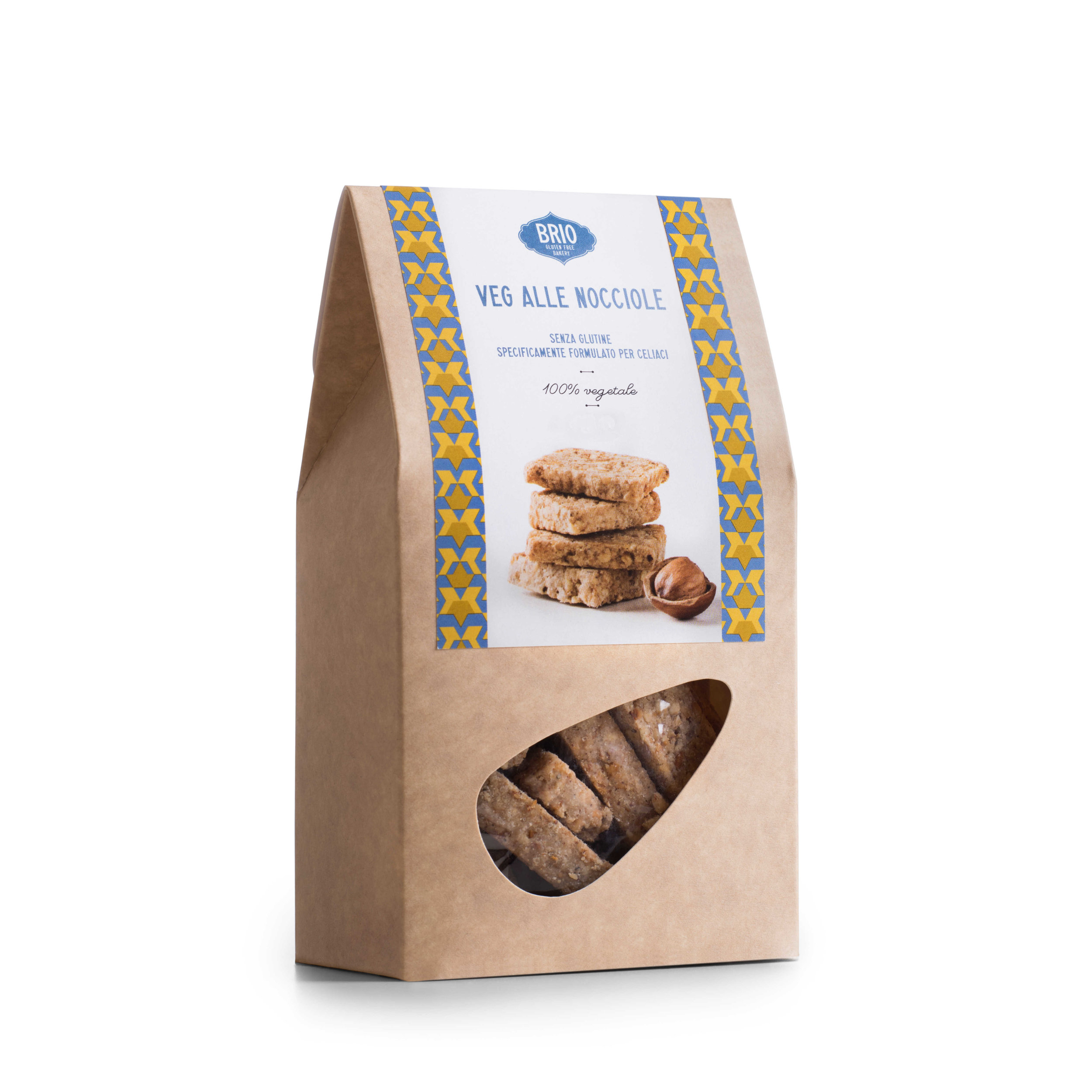 Vegan Hazelnut Biscuits