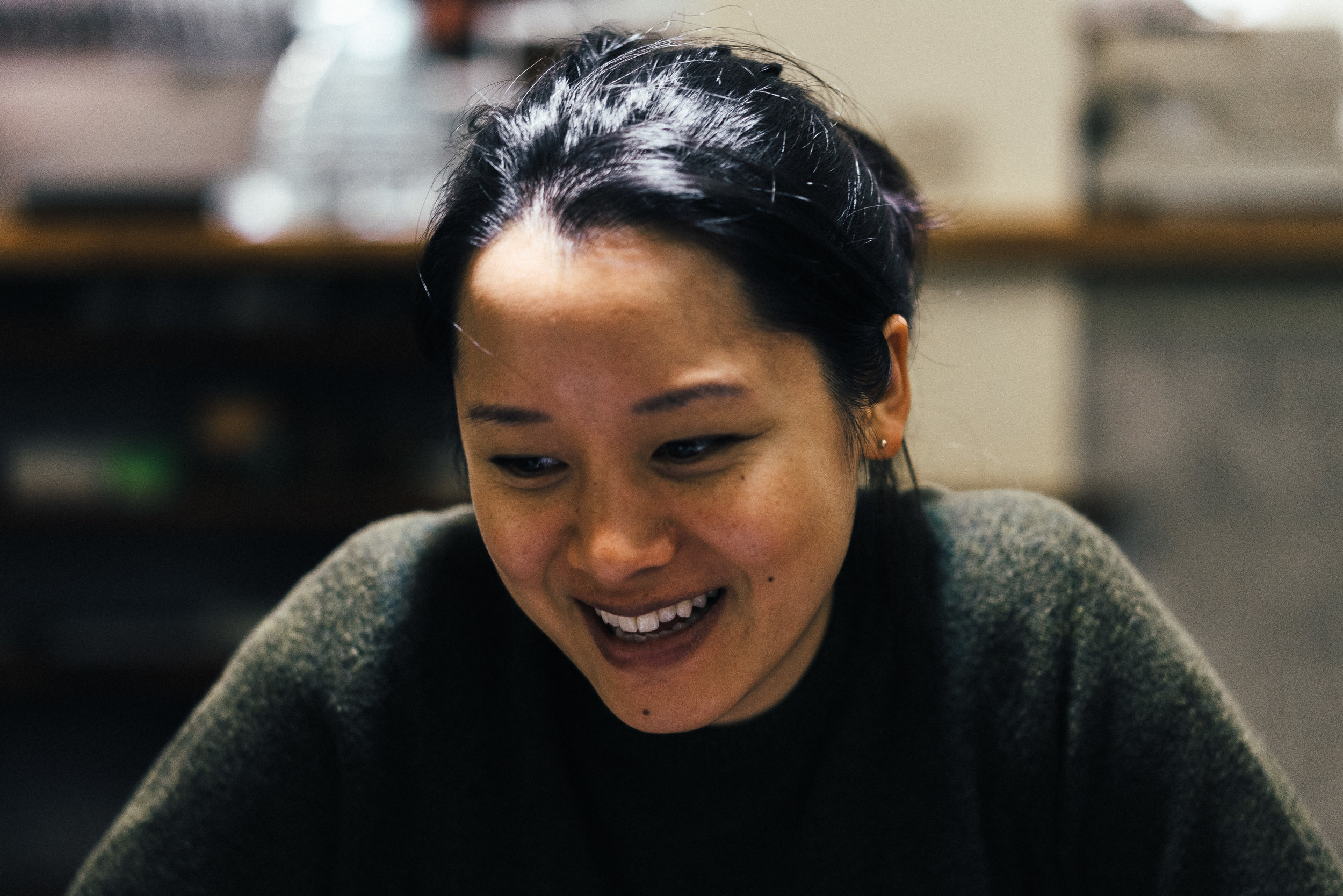 Beverly Chan-Carver of Life at Studio B.