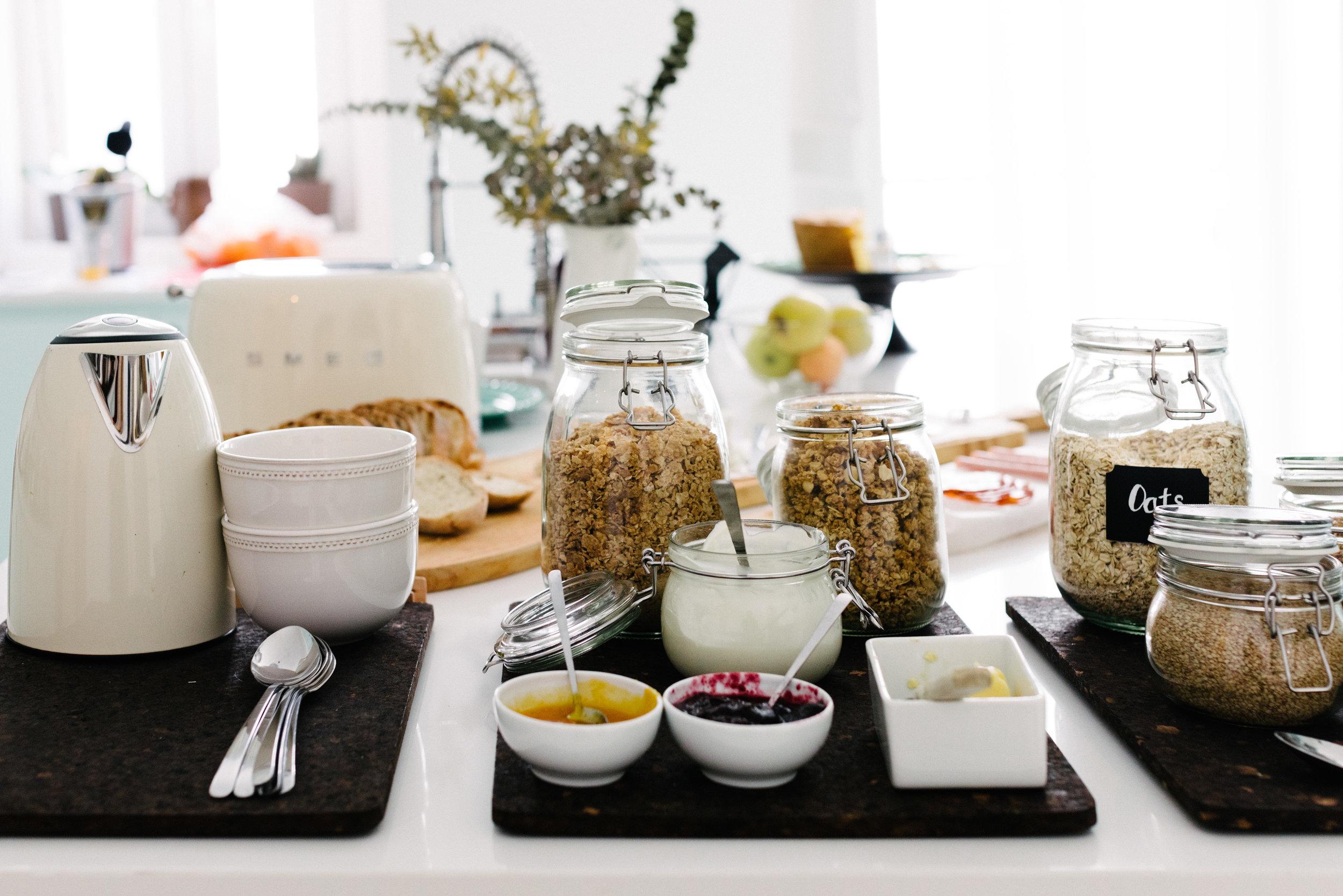 Breakfast at A Casa C'alma