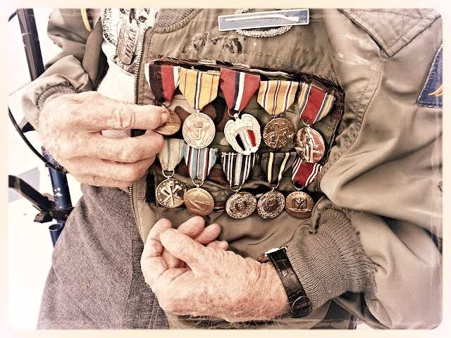 Very decorated WWII Veteran