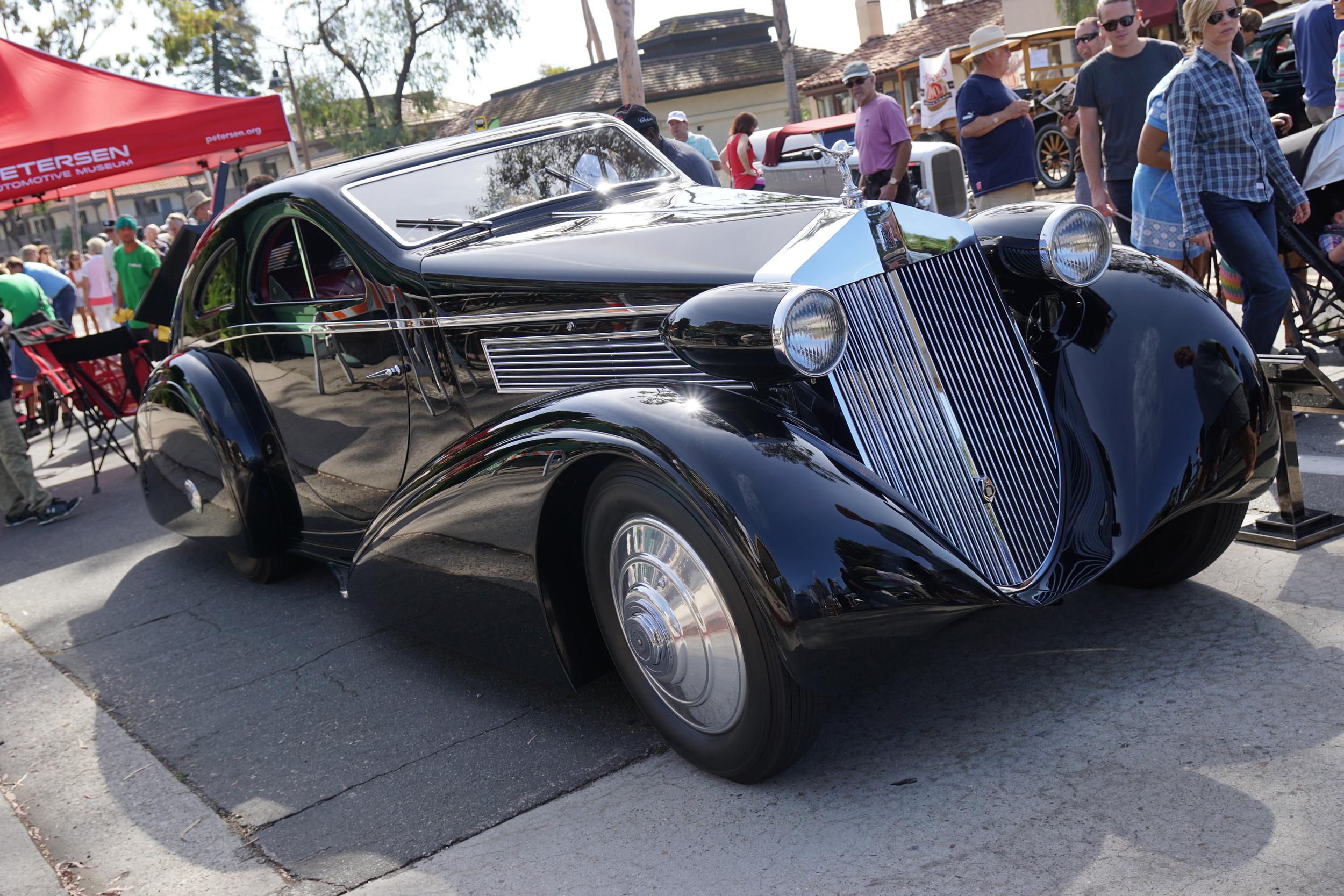 1929 Round Door Rolls Royce presented by the Petersen Automotive Museum