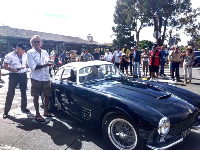 1956 250GT Zagato Ferrari presented by Michael Hammer of Armand Hammer Foundation