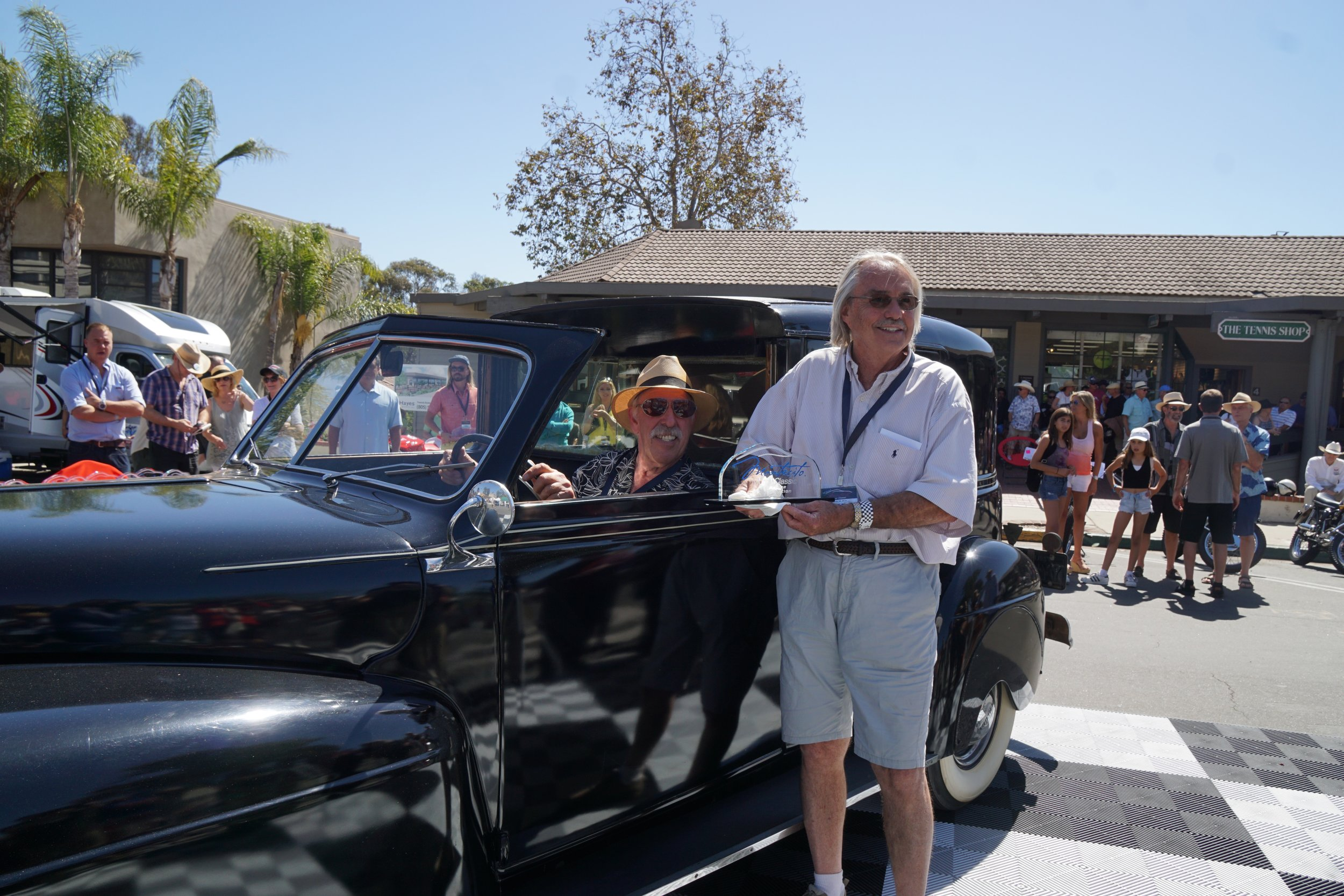 Preservation Class - 1st Place     1948 Mercury Cunningham Town Car – Tony Handler