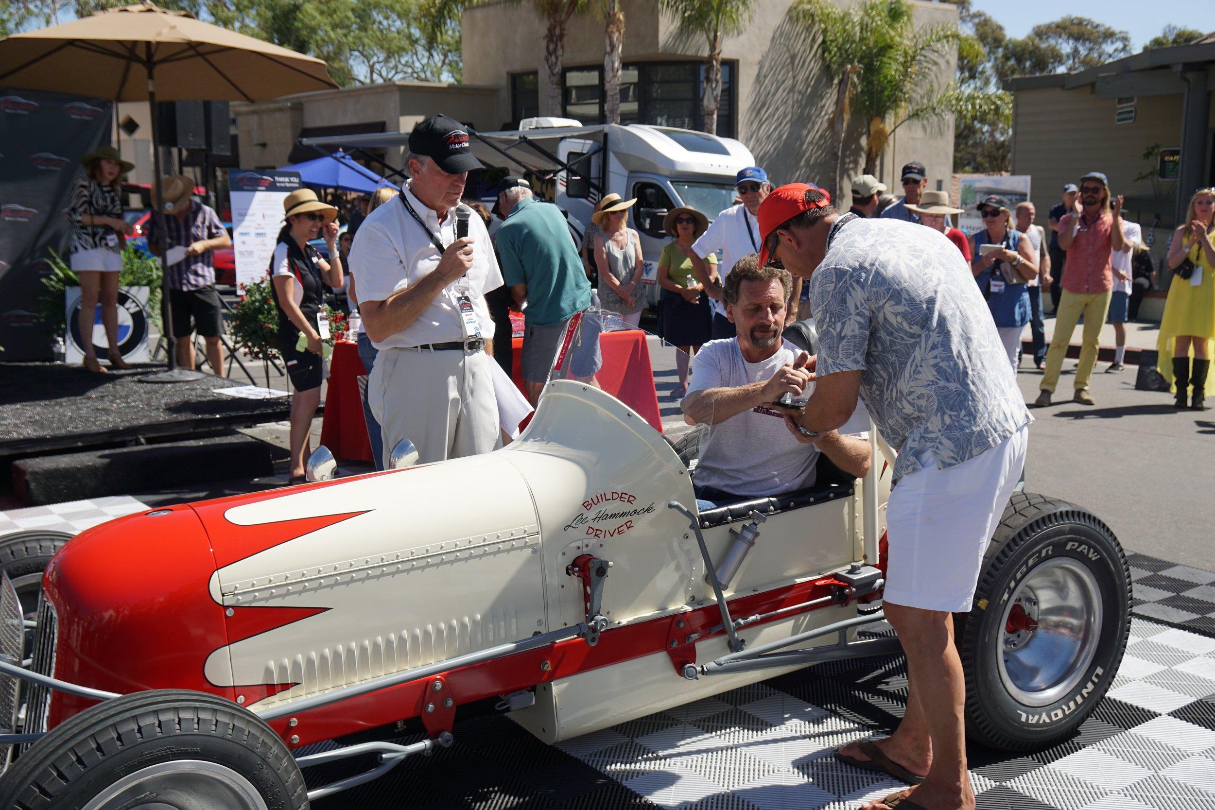 Race     2nd Place     1940 Handmade Sprint Car - Seth Hammond