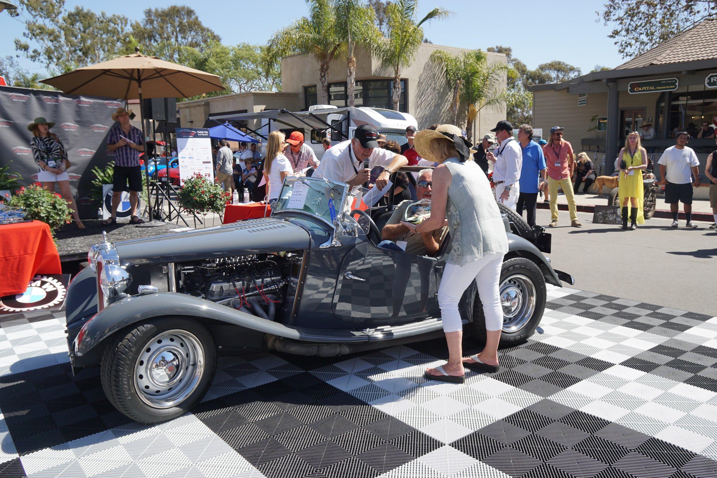 Hot Rod & Custom     1st Place     1953 MG TD – Russ Firestone