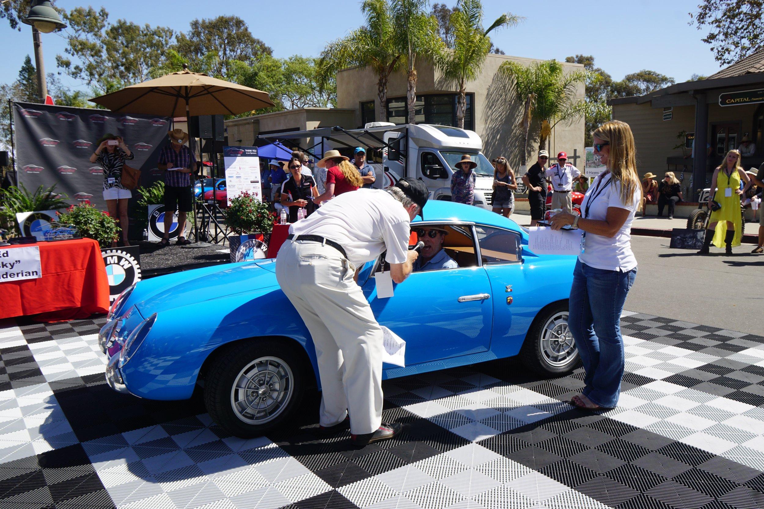 Sport (Under 2 litre)2nd Place     1960 Fiat Abarth 750GT Zagato – Doug Joseph
