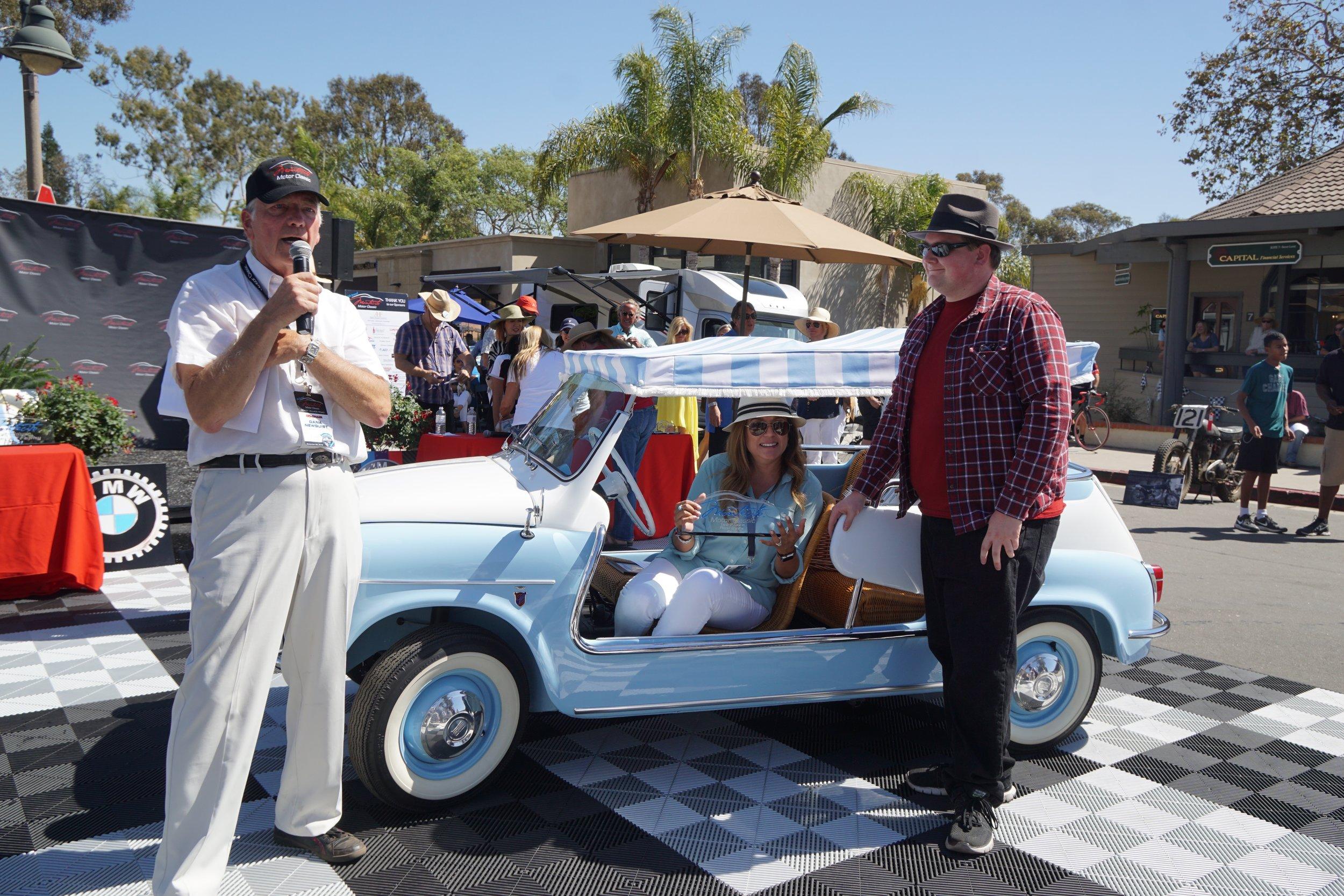 Mini Cars      1st Place:     1960 Fiat Jolly - Maria Wilson