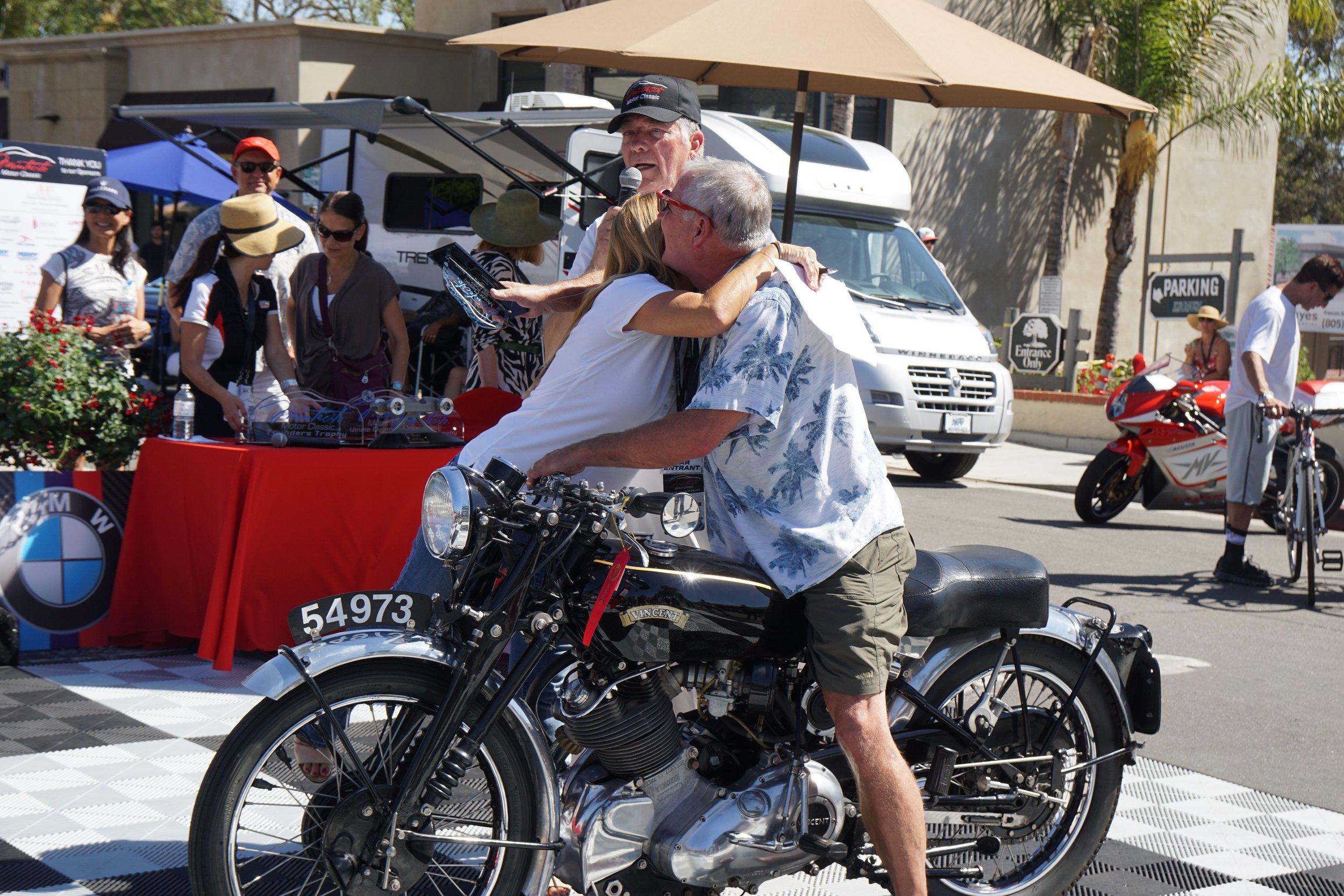 Motorcycles (Stock)      1st Pre-War     Vincent – Doug McKenzie