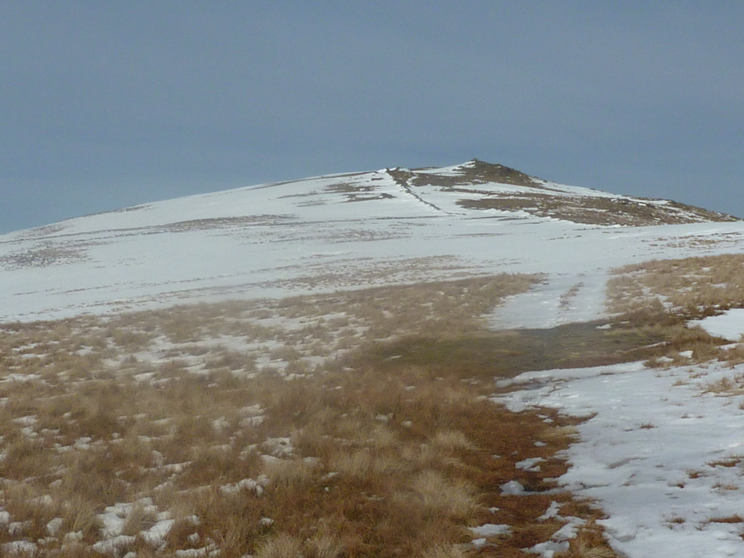 Towards top of Dove Crag-really hard work in wet bog or wet ankle deep snow...great March holiday
