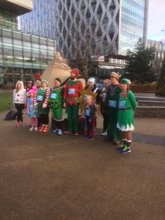 Christmas Jingle Jog-Thanks team amazing effort