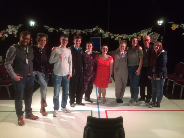 Young Carers, Cast members,Lee, Paul and Matt-Who Cares Tour Launch