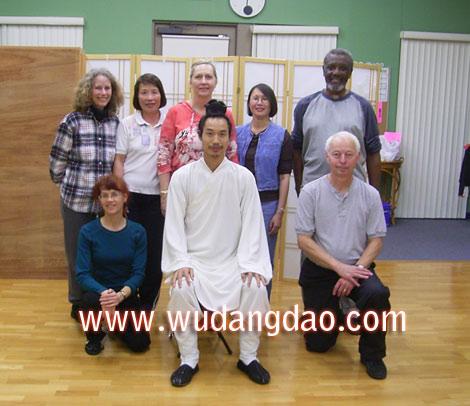 Wudang 5 Animal Qi Gong Seminar in Southern CA 2007
