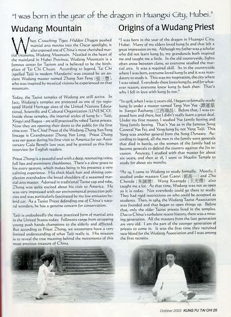 The Chief Priest of Wudang Mountain 3