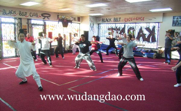 Wudang Taiji 28 Movements classes in CA 2007 a