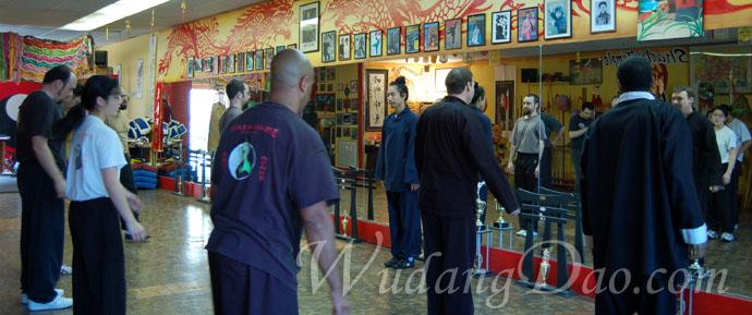 Wudang Dragon Form Seminar in Lomita CA 2008 h