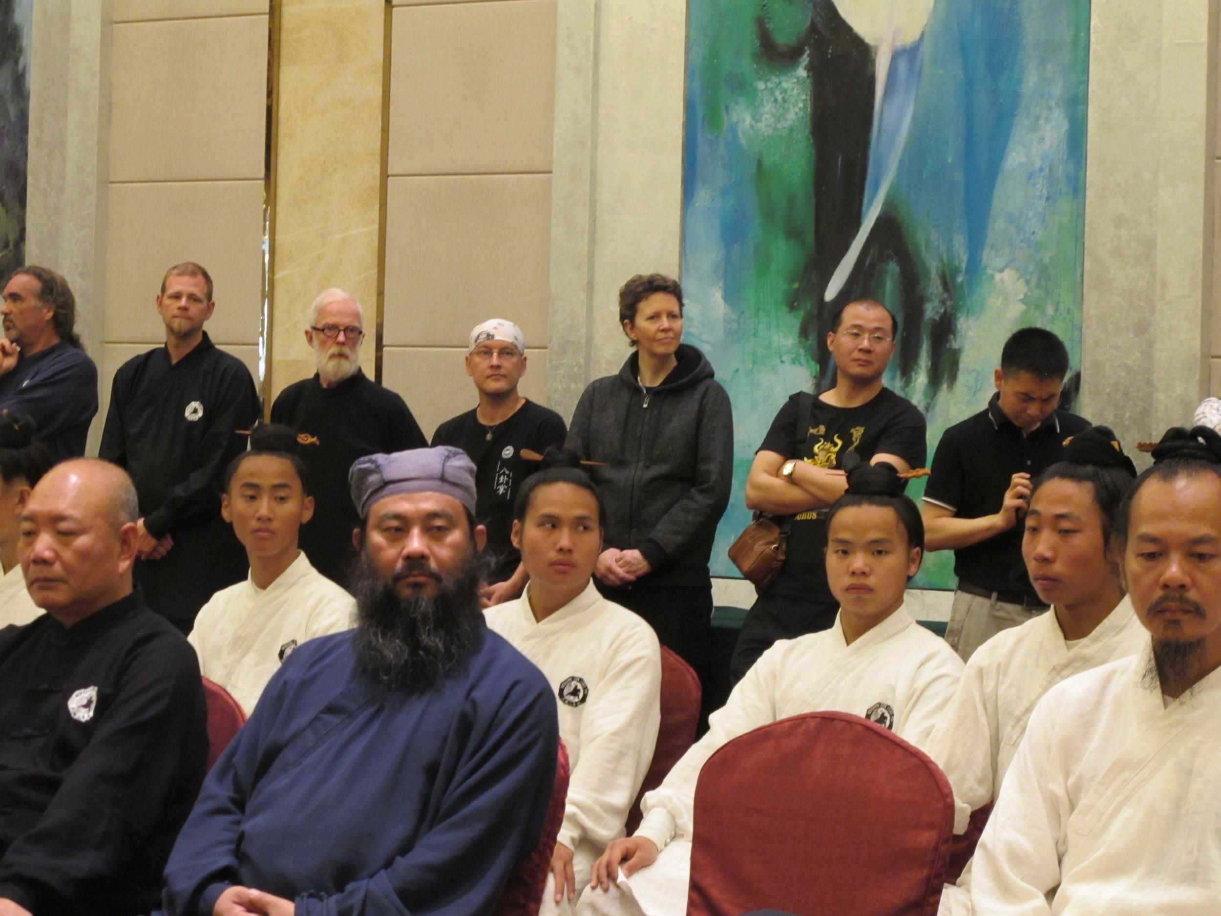Grand Master Zhong's had new disciples today