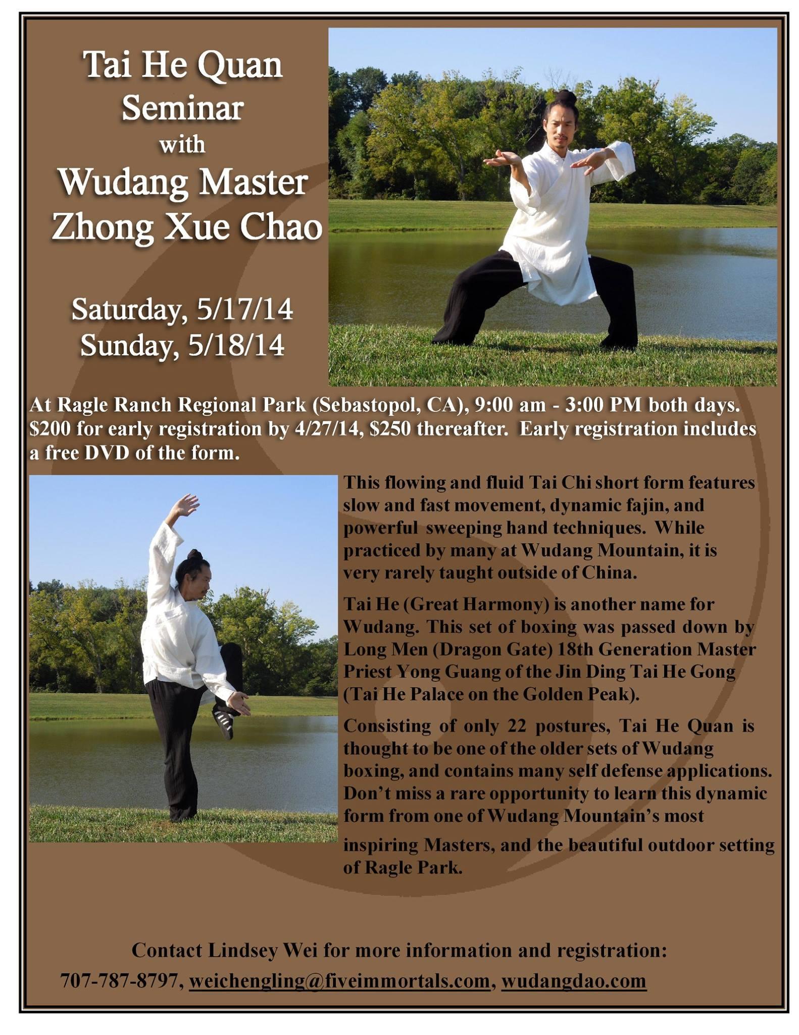 Wudang Tai He Quan Seminar