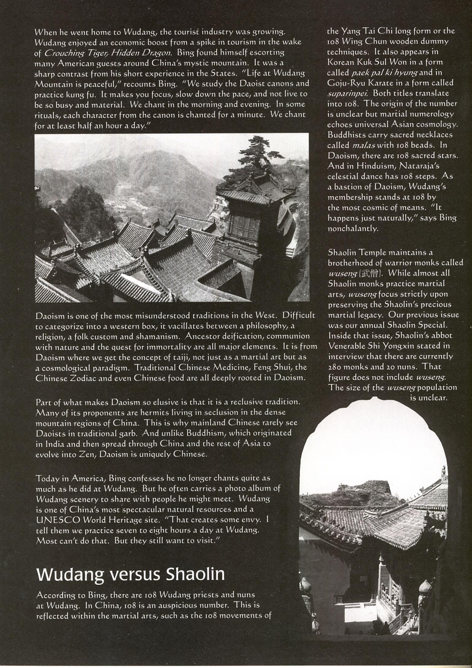 Master Bing on Kung Fu Magazine 04