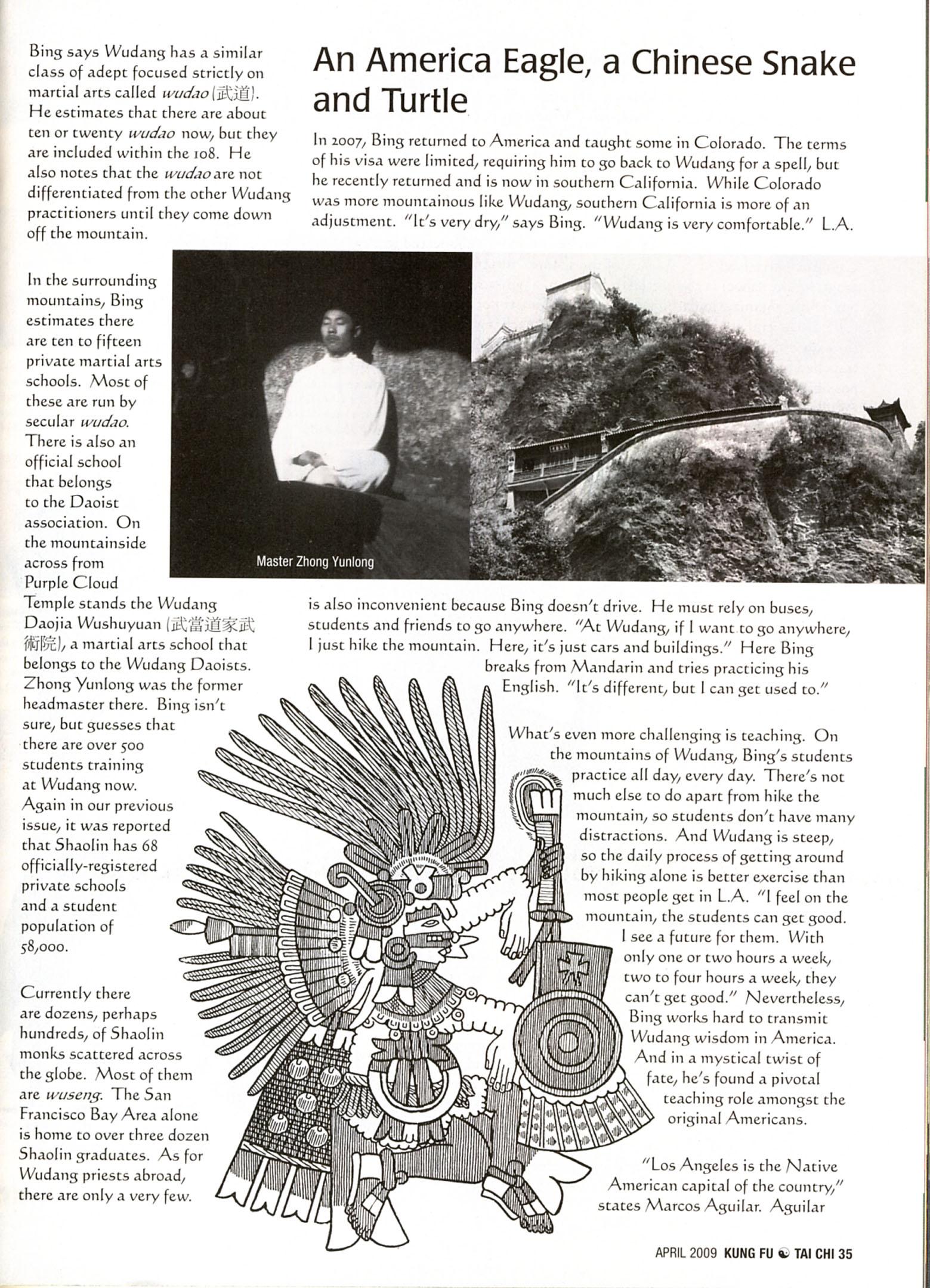 Master Bing on Kung Fu Magazine 06