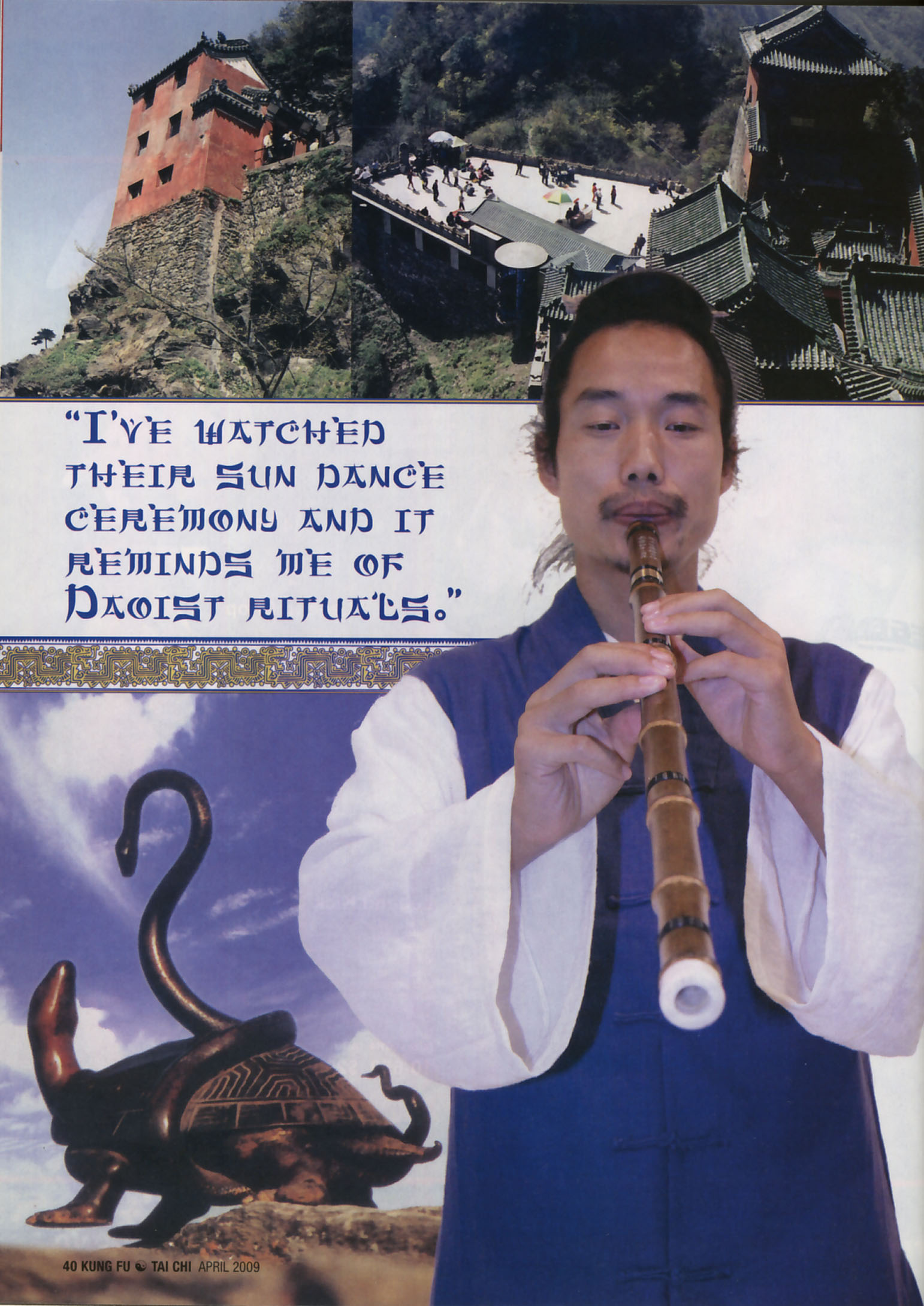 Master Bing on Kung Fu Magazine 08